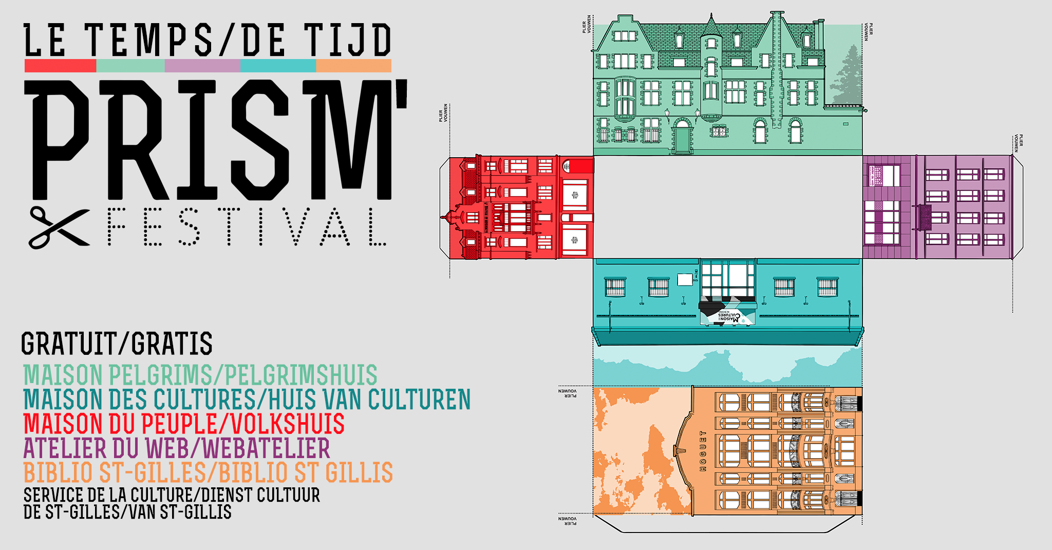 affiche prism' festival